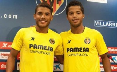 Los hermanos Dos Santos juntos en Villarreal.