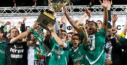 El Ludogorets pasó de la tercera bulgara a campeón en pocos años.