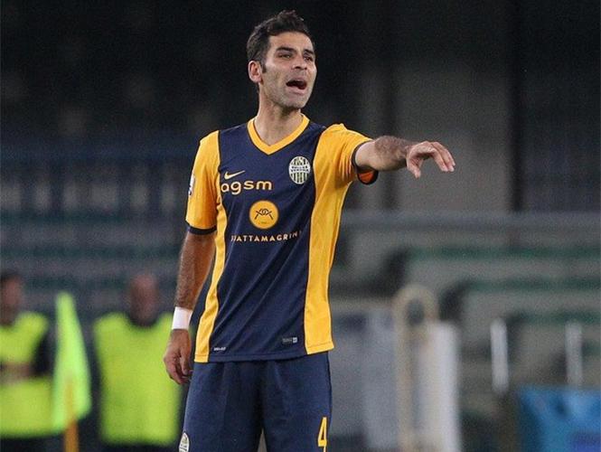 Rafa Márquez con la camiseta del Hellas Verona.