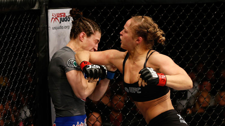 Best ever goals you with Ronda Rousey.