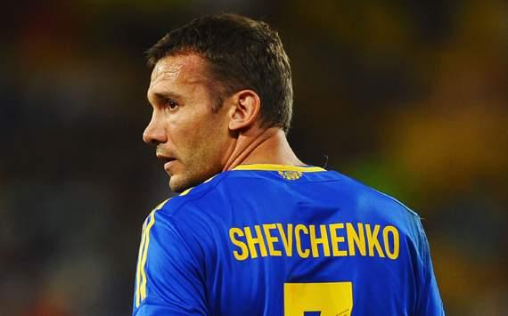 Andriy Shevchenko, el Gladiador de Oro