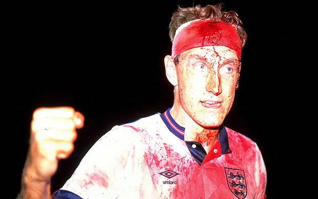 Terry Butcher, the man who sweated blood