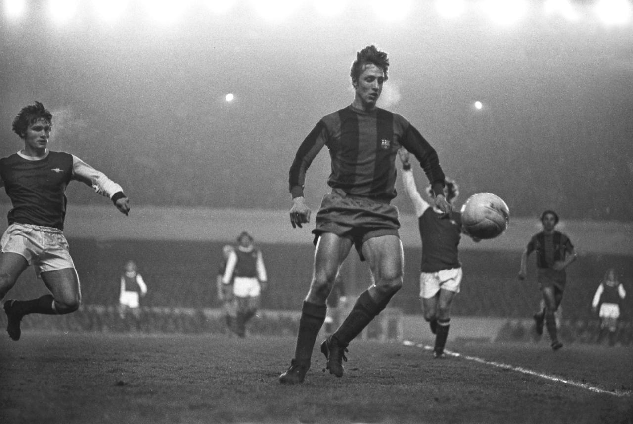 Las mejores imágenes de la carrera de Johan Cruyff