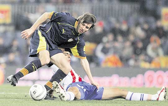Andorra's most representative player is Celades. He never got to play in Andorra, yes Real Madrid, Barcelona, Spain or Catalonia.