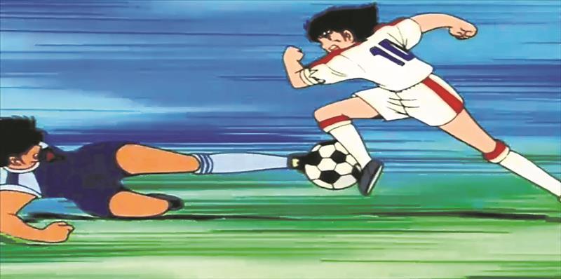 best series of drawings on football