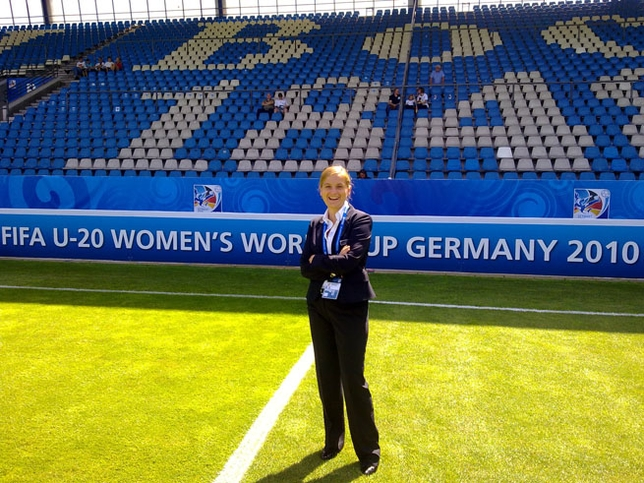 Marisa Villa, nueva informadora UEFA