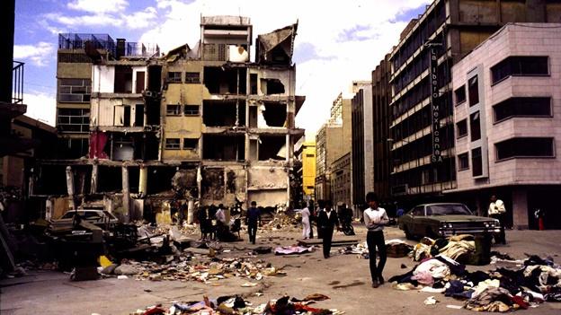 El terremoto de 1985 dejó muy tocada México DF.
