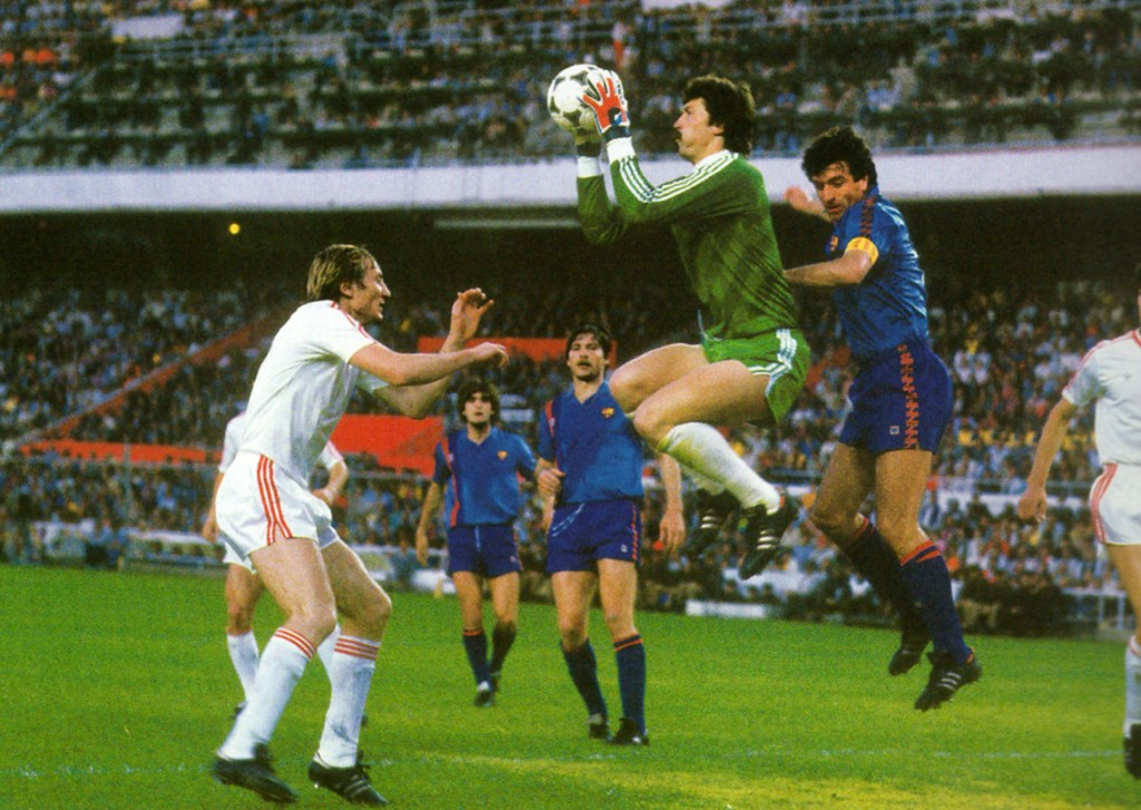 Barca was unable to beat Steaua in the final of the European Cup 1986.
