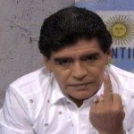 Maradona, God does demon?