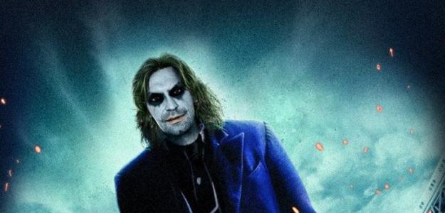 Horror, ¿es el Joker?. No, es el gran Andrea Pirlo.