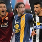 Totti, Christmas y Toni, the goal in Italy is a matter of veterans