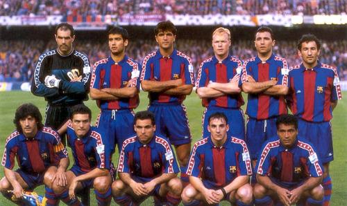 El Barcelona contaba con una plantilla de lujo en 1994.