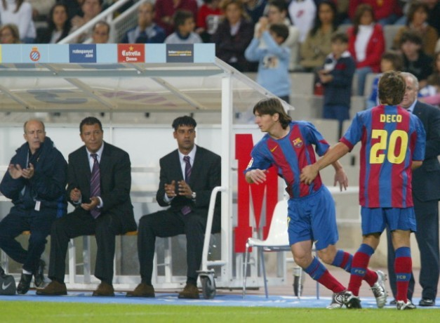 Ten years after the official debut of Messi in the league
