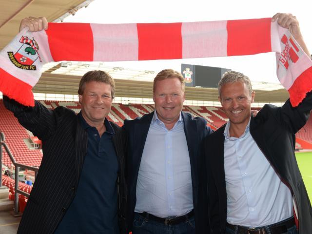 Ronald Koeman y su hermano Erwin están triunfando en la Premier.