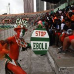 Ebola in the world of football