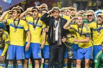Así con la Copa de campeones de la Eurocopa Sub-21 de 2015 se acordaron los suecos de Kurzawa.