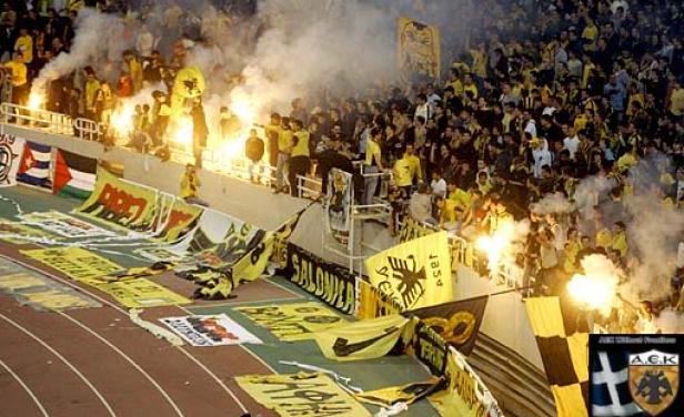 El AEK Atenas deambula por las categorías inferiores del fútbol griego.