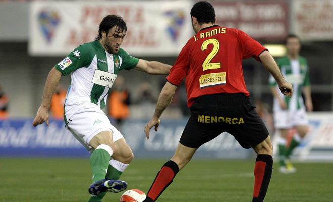 Betis-Mallorca a First match in 2007. A second match 7 years later.
