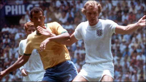 Bobby Moore finally he played in Mexico but what happened to the bracelet never know.