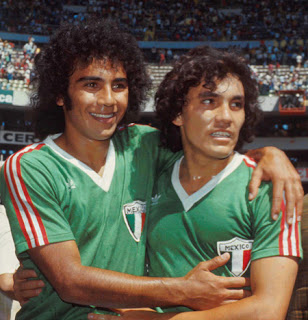 Mexico deposited its hopes on a young Hugo Sanchez.
