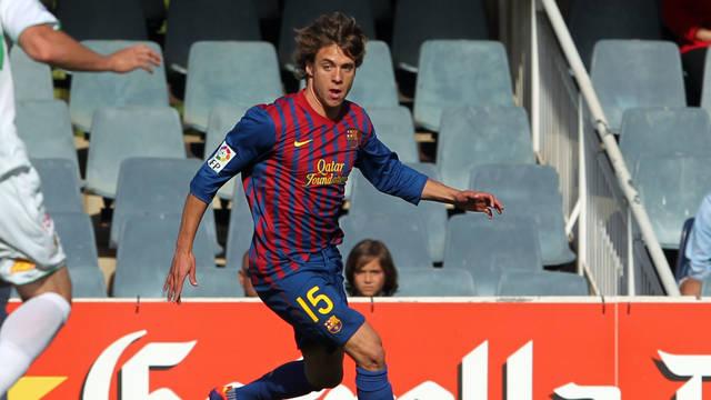 Kiko Femenía jugó en los filiales de Barcelona y Real Madrid.