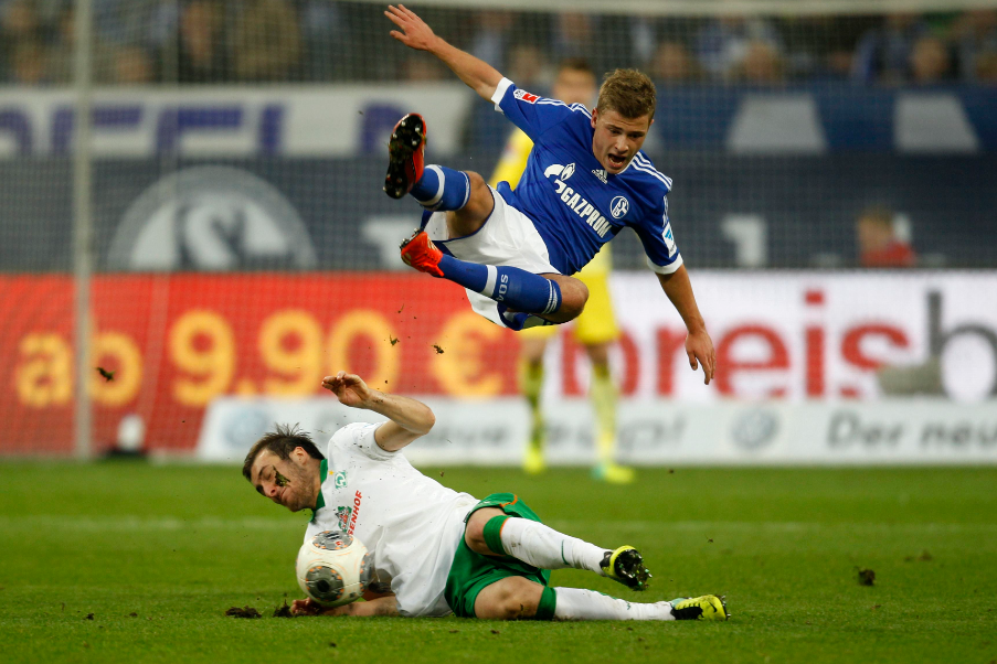 Max Meyer wants to fly high in international football.