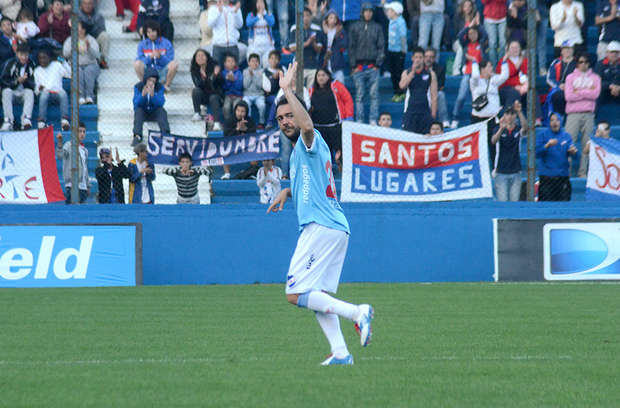 Recoba still getting great goals in league Uruguay.