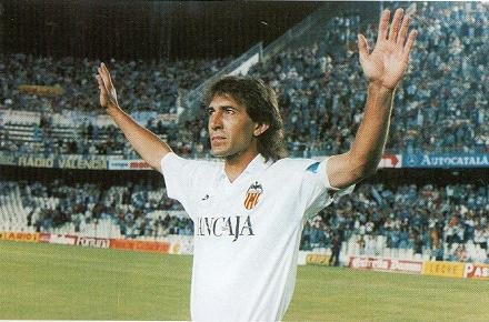 Ricardo Arias played a life in Valencia.
