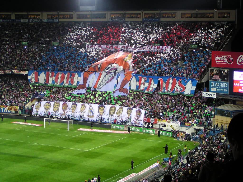 En el Calderón, el Real Madrid es el enemigo público número 1.