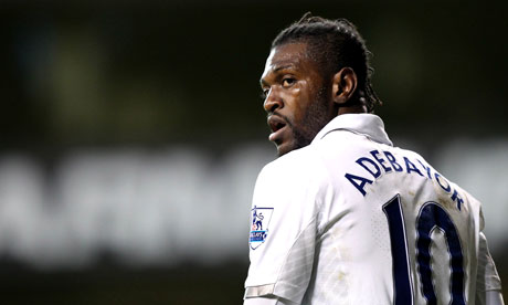 Adebayor contract ends 30 June 2015.