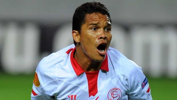 Carlos Bacca, el gol del Sevilla.