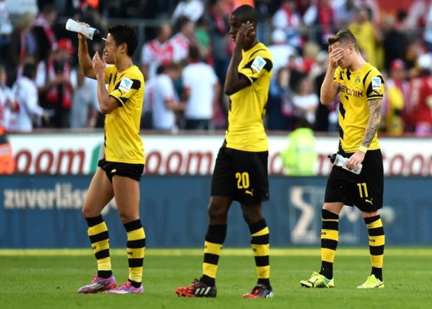 El Dortmund se encuentra en la parte baja de la Bundesliga.