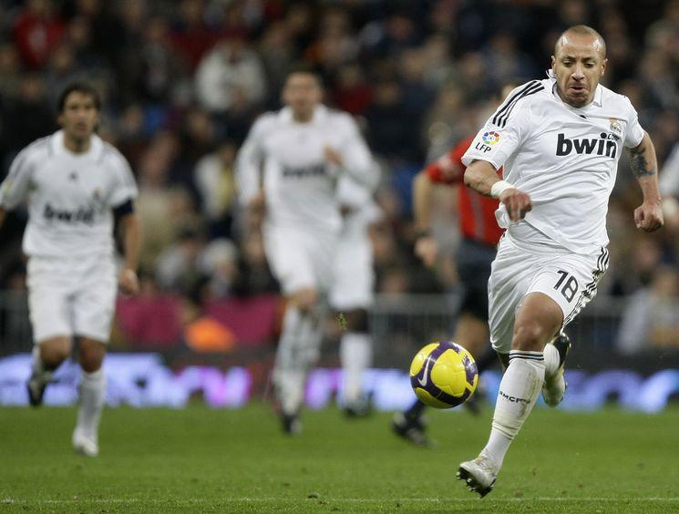 Faubert can always tell who played for Real Madrid although it was almost testimonial.