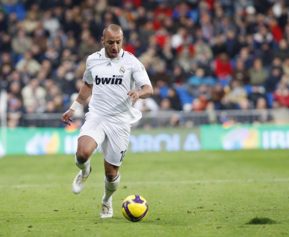 Faubert accumulated more photos than minutes with Real Madrid.
