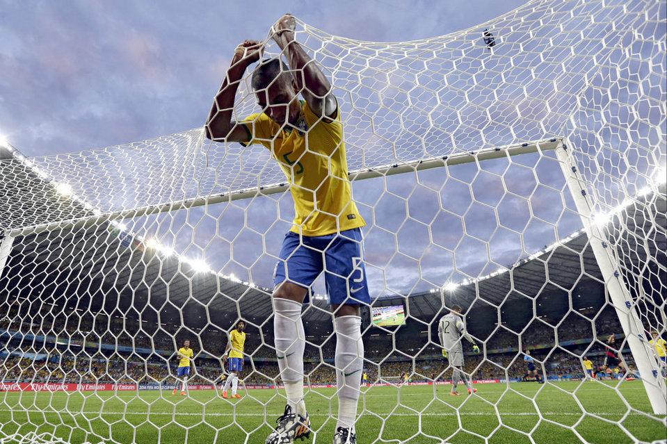 Brasil hizo el más absoluto de los ridículos ante Alemania.