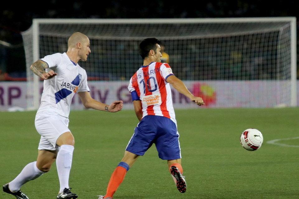 Luis García es la estrella del Atlético Calcuta.
