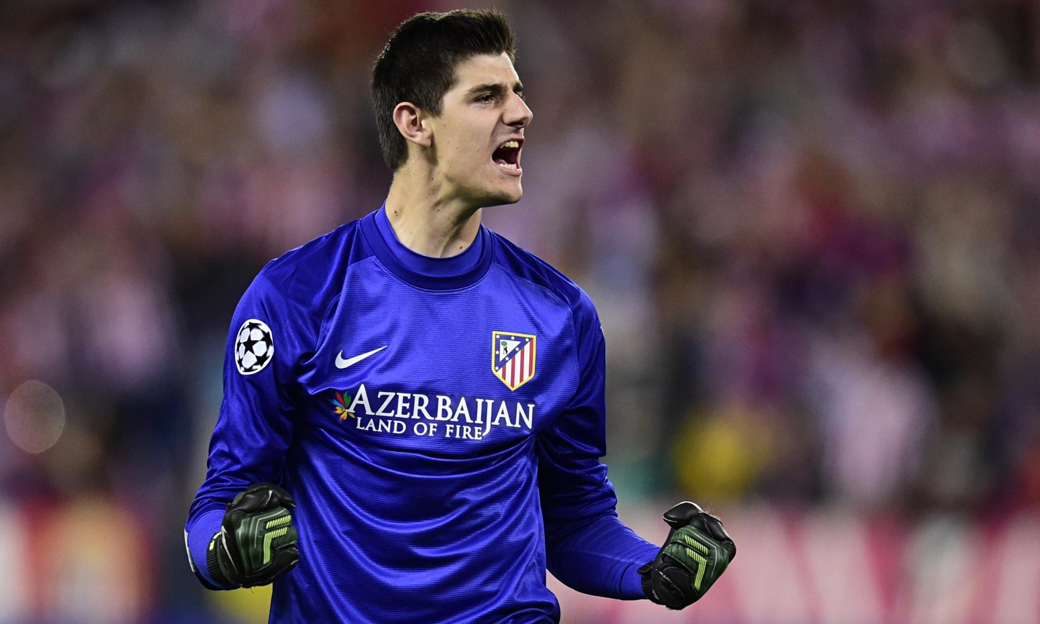 Thibaut Courtois was one of the best goalkeepers in the 2014.