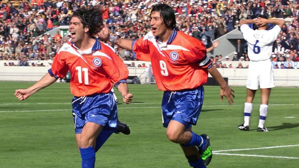 Salas and Zamorano, Chile's history.