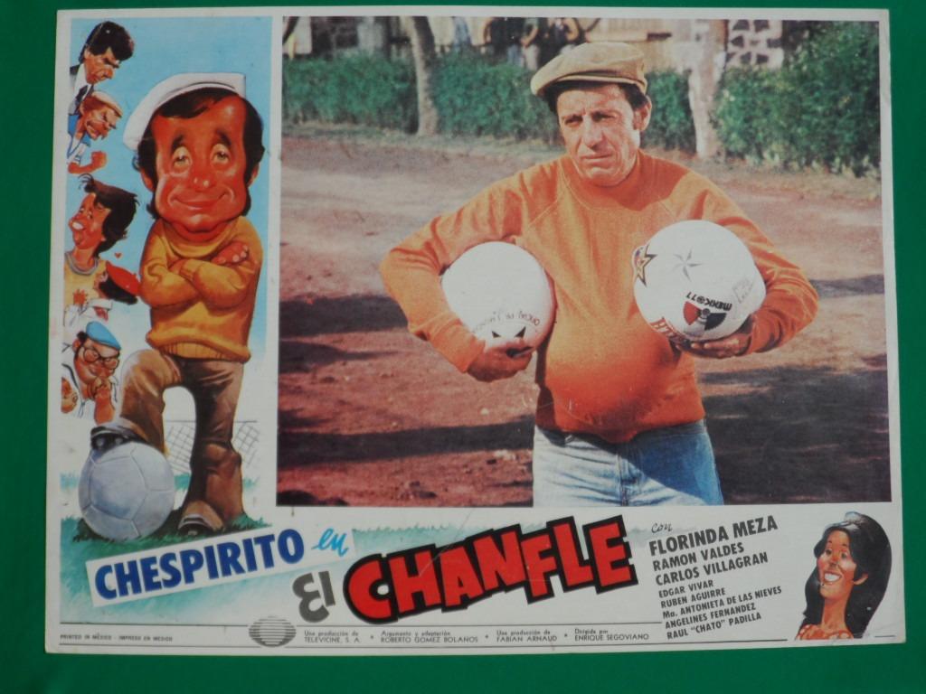 """Cartel de la película """"El Chanfle""""."""