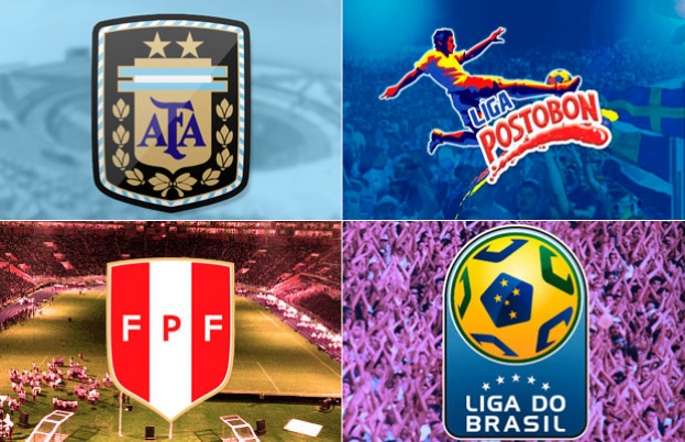 The major leagues in South America