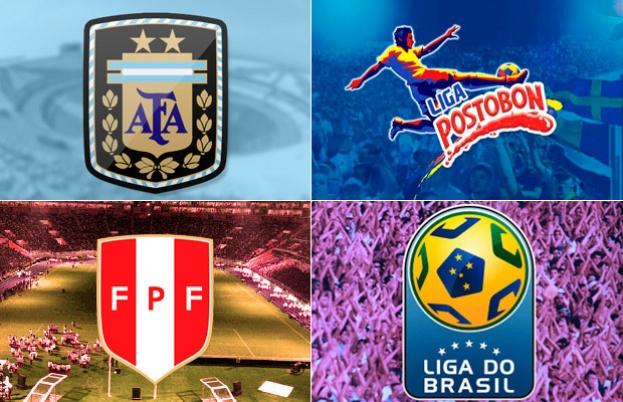Las principales ligas de Sudamérica