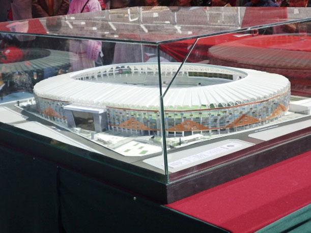 Maqueta de como quedará remodelado el estadio Garcilaso. Foto: Peru.com