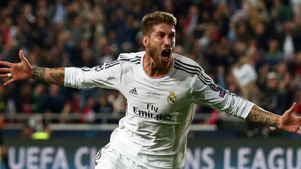 Sergio Ramos has completed a 2014.