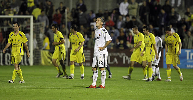 Reviewing the Alcorcón entered the King Cup