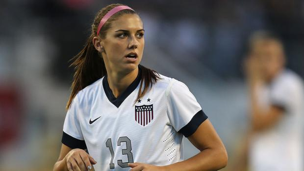 Alex Morgan, one of the best female players in the world