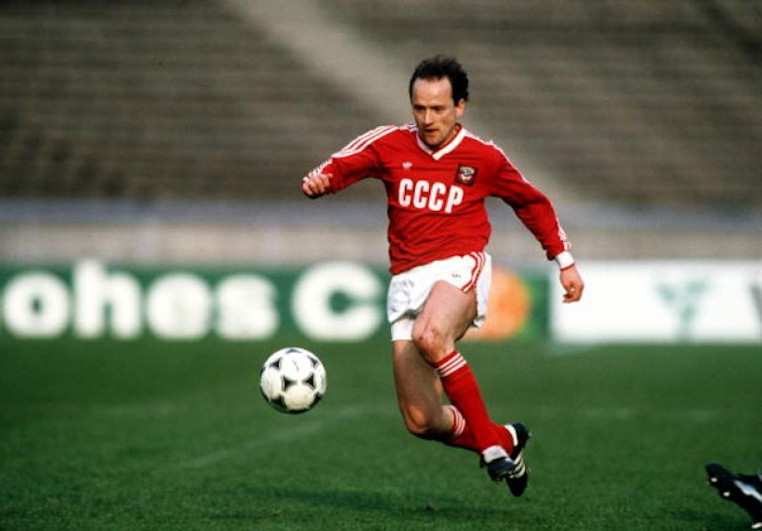 Igor Belanov ganó el Balón de Oro de 1986.