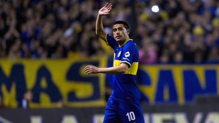 Riquelme, a player of before.