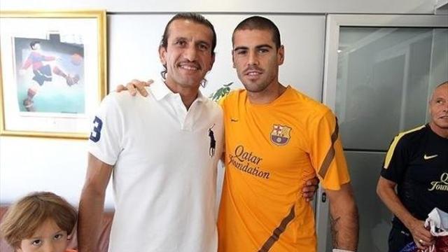 Rüştü Reçber con Valdés. Fueron compañeros hace más de una década.