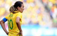Marta Vieira, una de las mejores de la historia del fútbol femenino