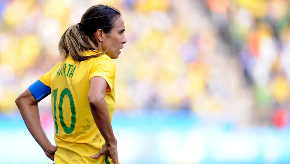 Marta Vieira, one of the best in the history of women's football